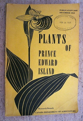 Book cover of Plants of Prince Edward Island