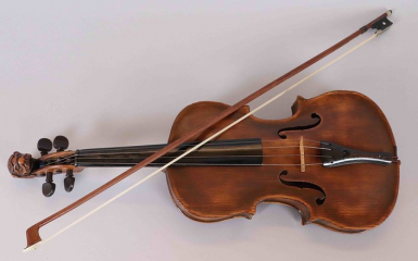 Campbell family fiddle